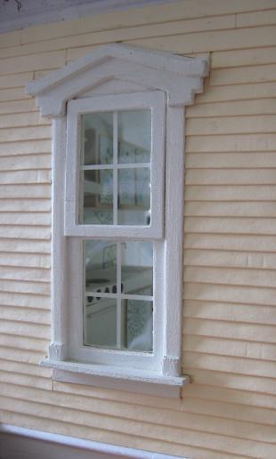 The kitchen window.