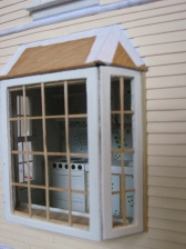 Bay window in progress