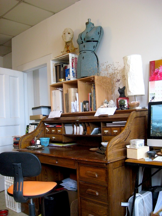 JFries - My writing desk, 2.13.19