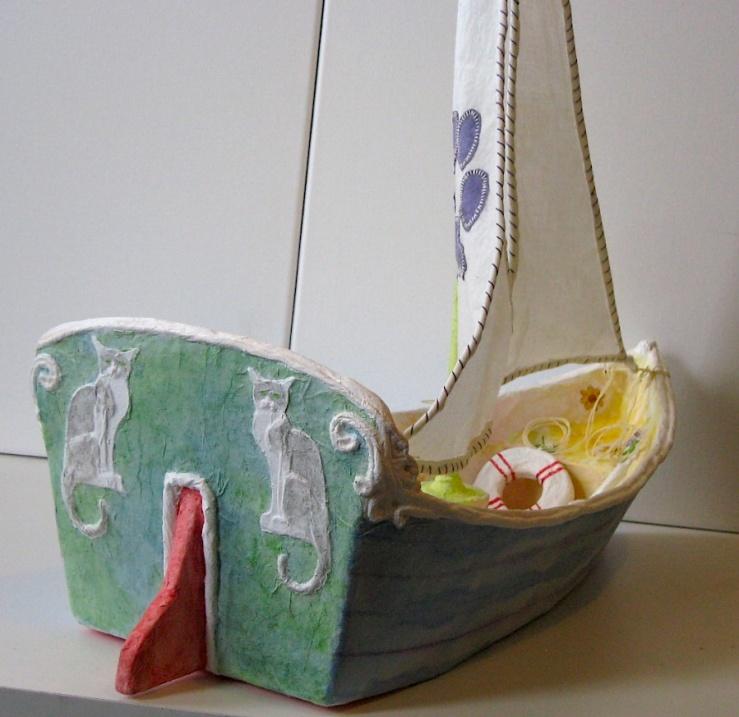 Boat astern