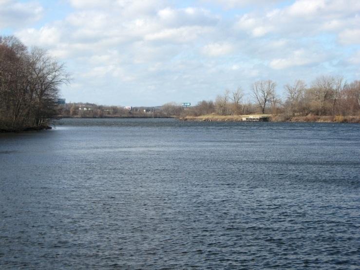 JFries Mystic River 1 upstream 1.11.2020
